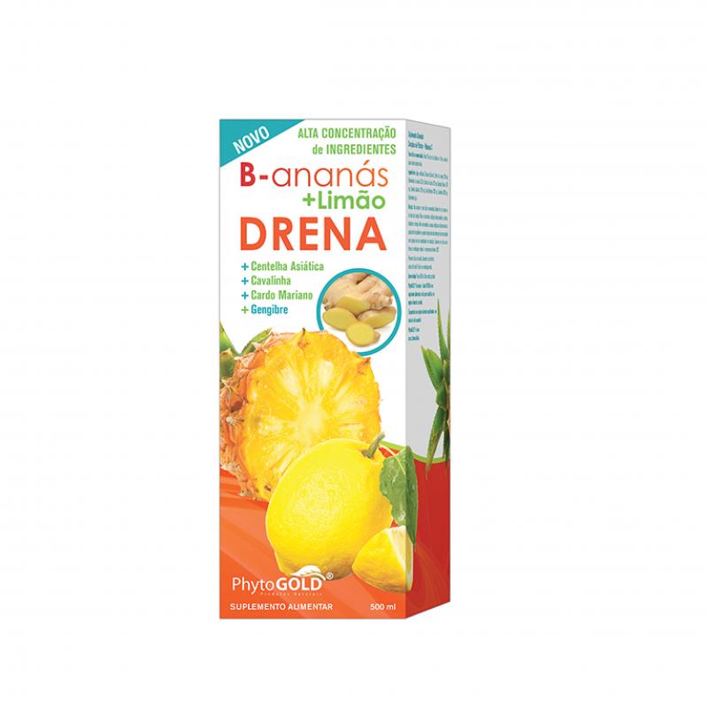 Drena B-ananás + Limão
