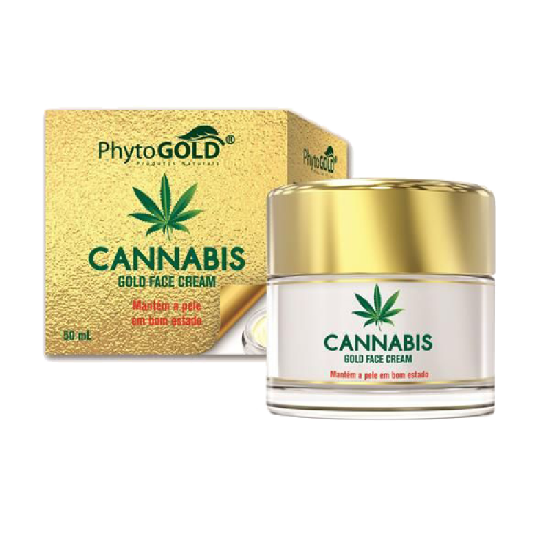 Cannabis Gold Face Cream